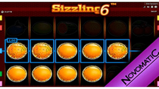 Sizzling 6 Retro Slots Game Online For Mobiles