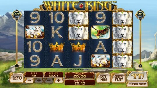 The White King Online Slot Game From Playtech