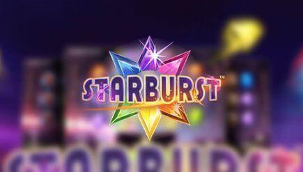 Online NetEnt Astronomy Themed Starburst Slot Game
