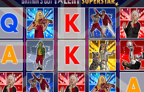 Britain's Got Talent Superstar – The Online Slot Game Version