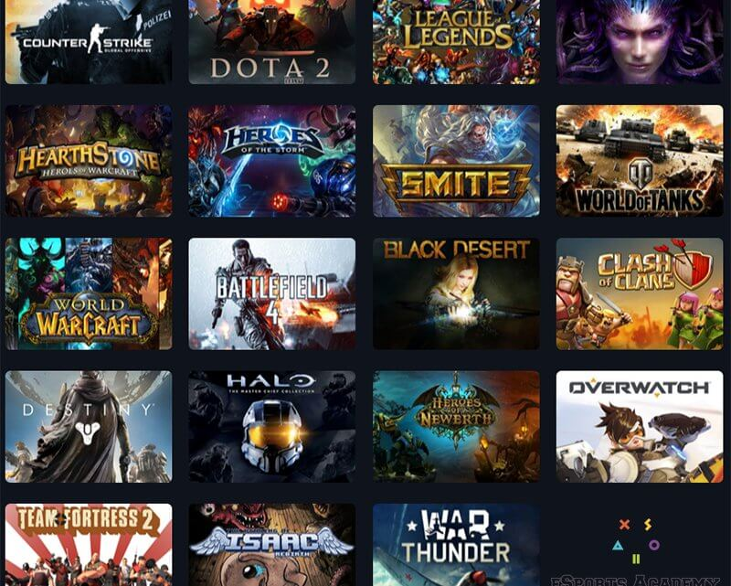The Best eSports Games Worth Wagering On